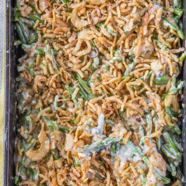 Ultimate Green Bean Casserole from Scratch