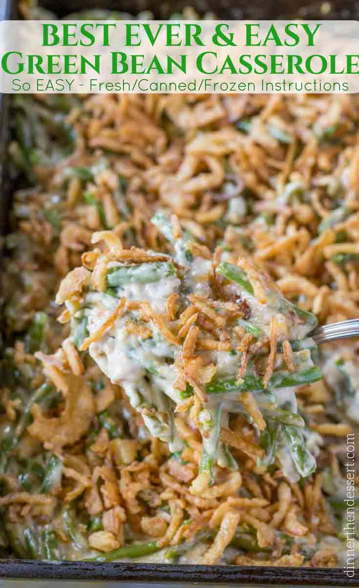 Green Bean Casserole Recipe Spoonful
