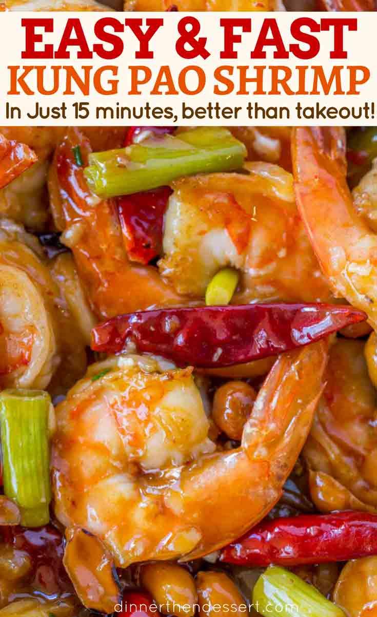 Chinese Kung Pao Shrimp