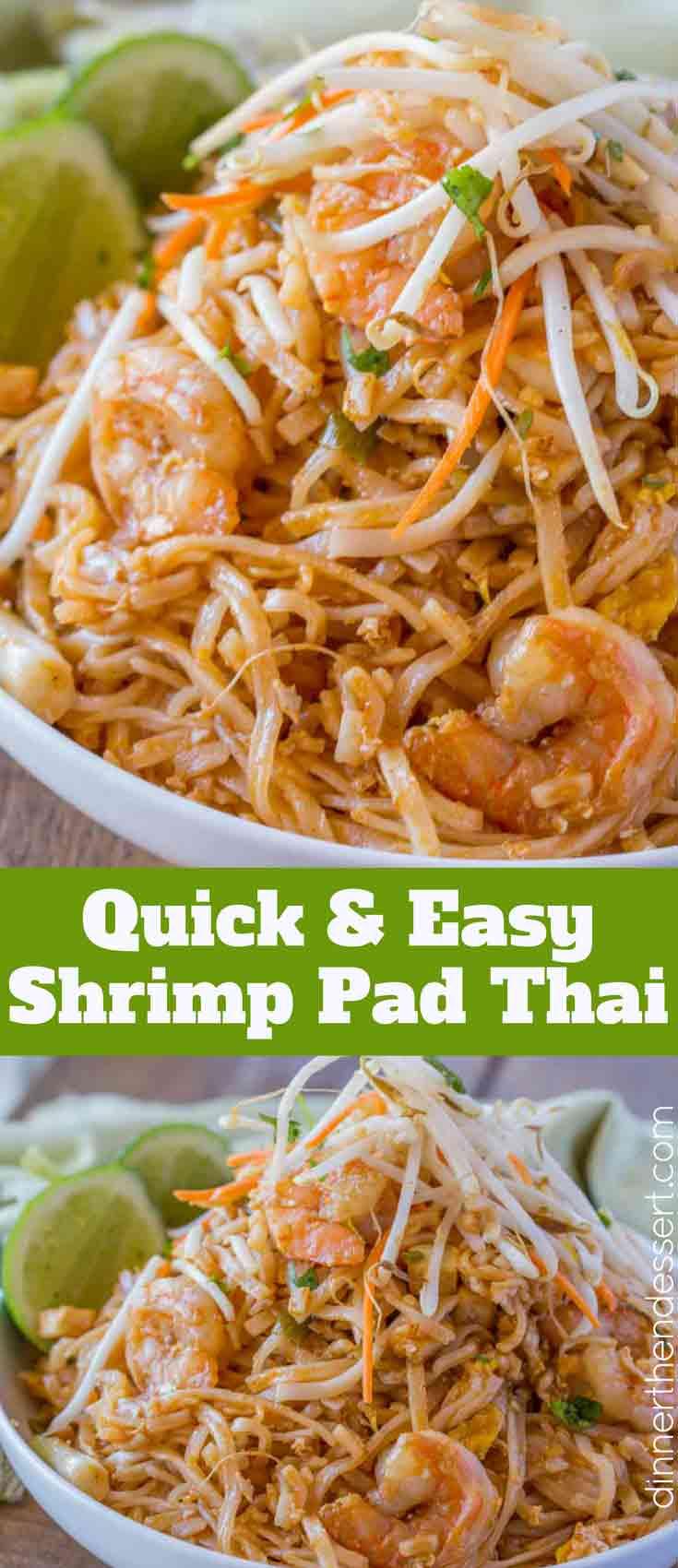 Traditional Shrimp Pad Thai
