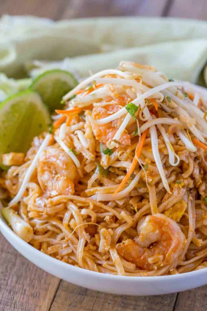 Easy Pad Thai Dinner Then Dessert