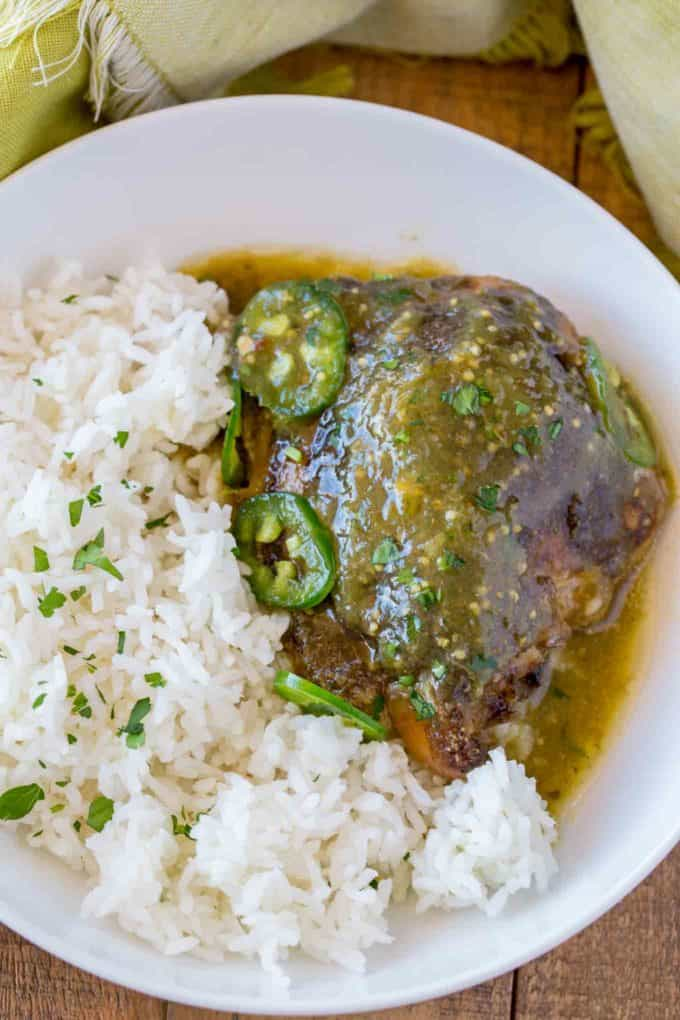 Salsa Verde Chicken