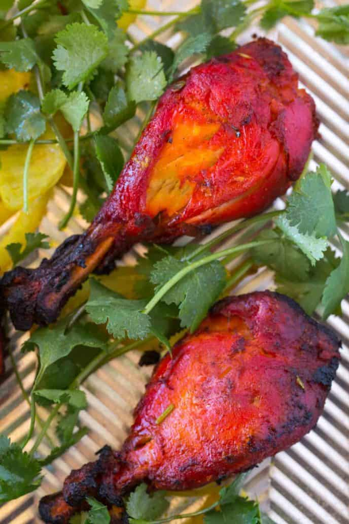Easy Oven Baked Tandoori Chicken
