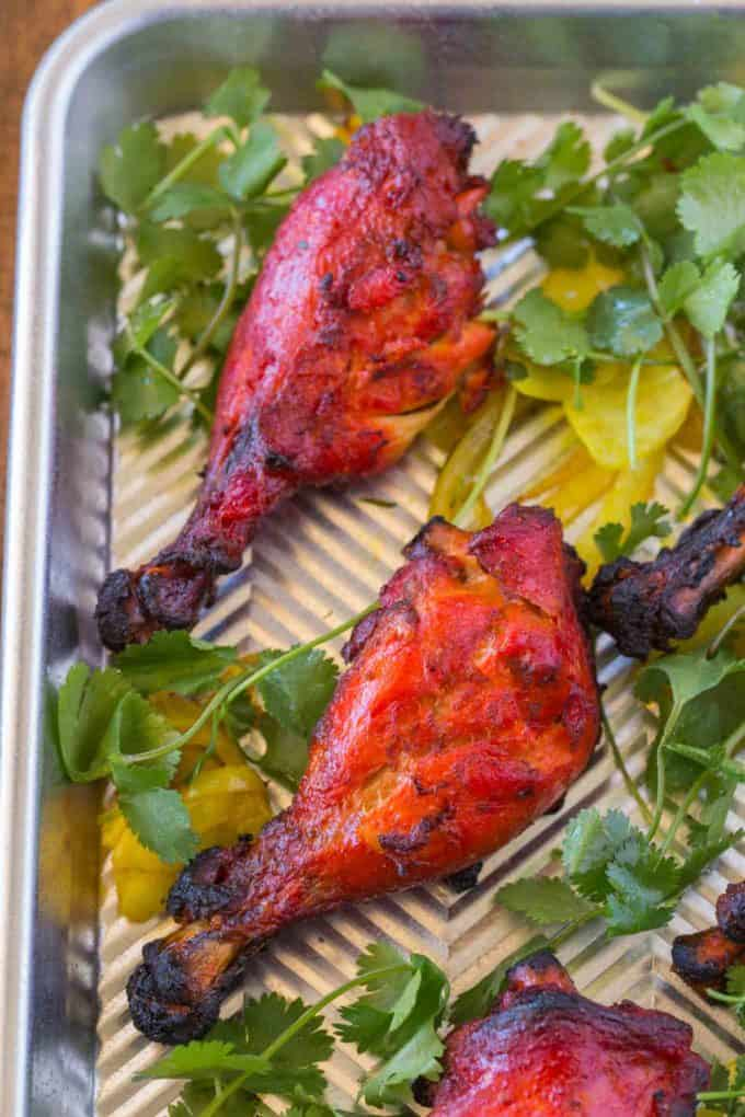 Easy tandoori chicken dinner then dessert indian chicken tandoori forumfinder