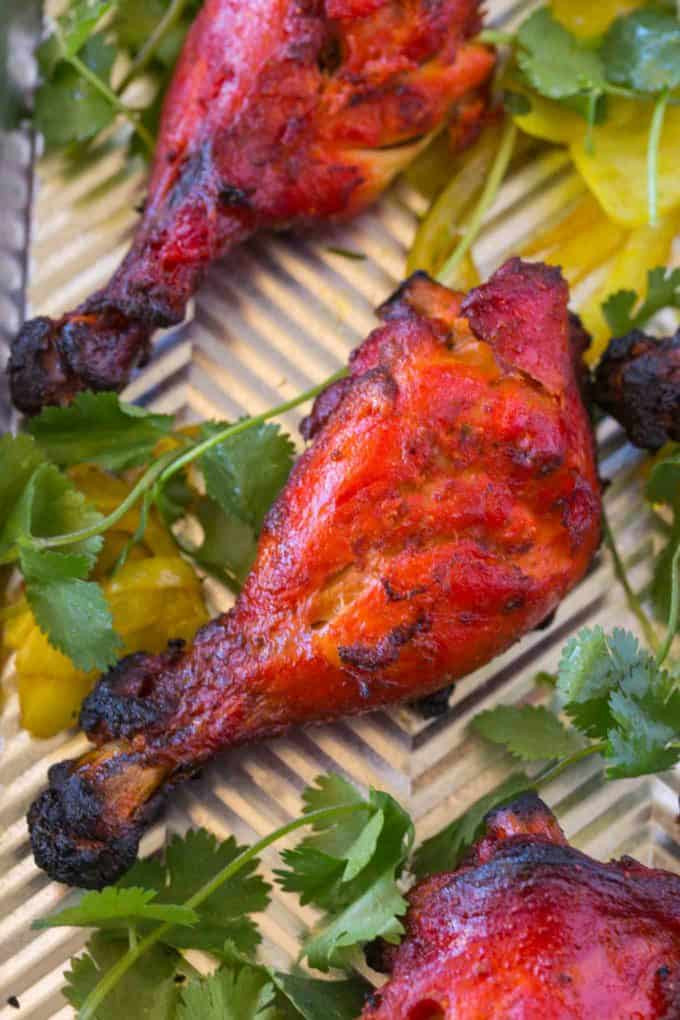 Easy tandoori chicken dinner then dessert easy tandoori chicken forumfinder Image collections