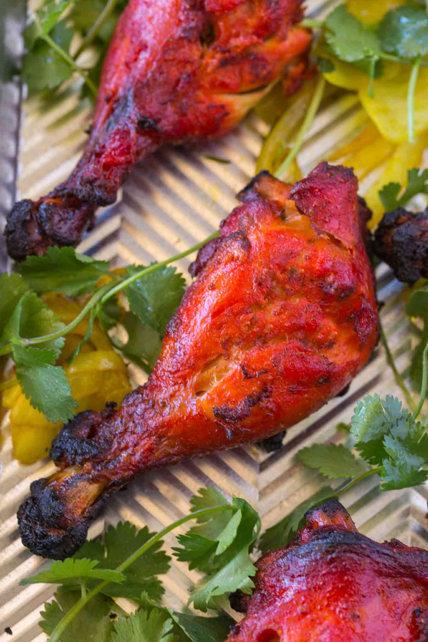 Easy Tandoori Chicken Dinner Then Dessert