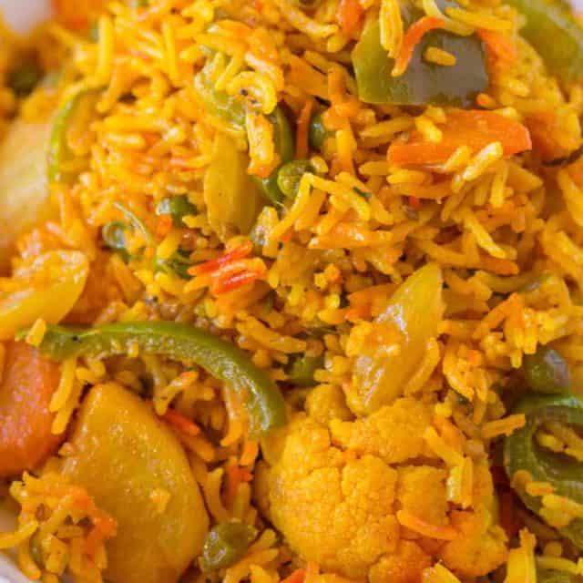 easy indian biryani rice