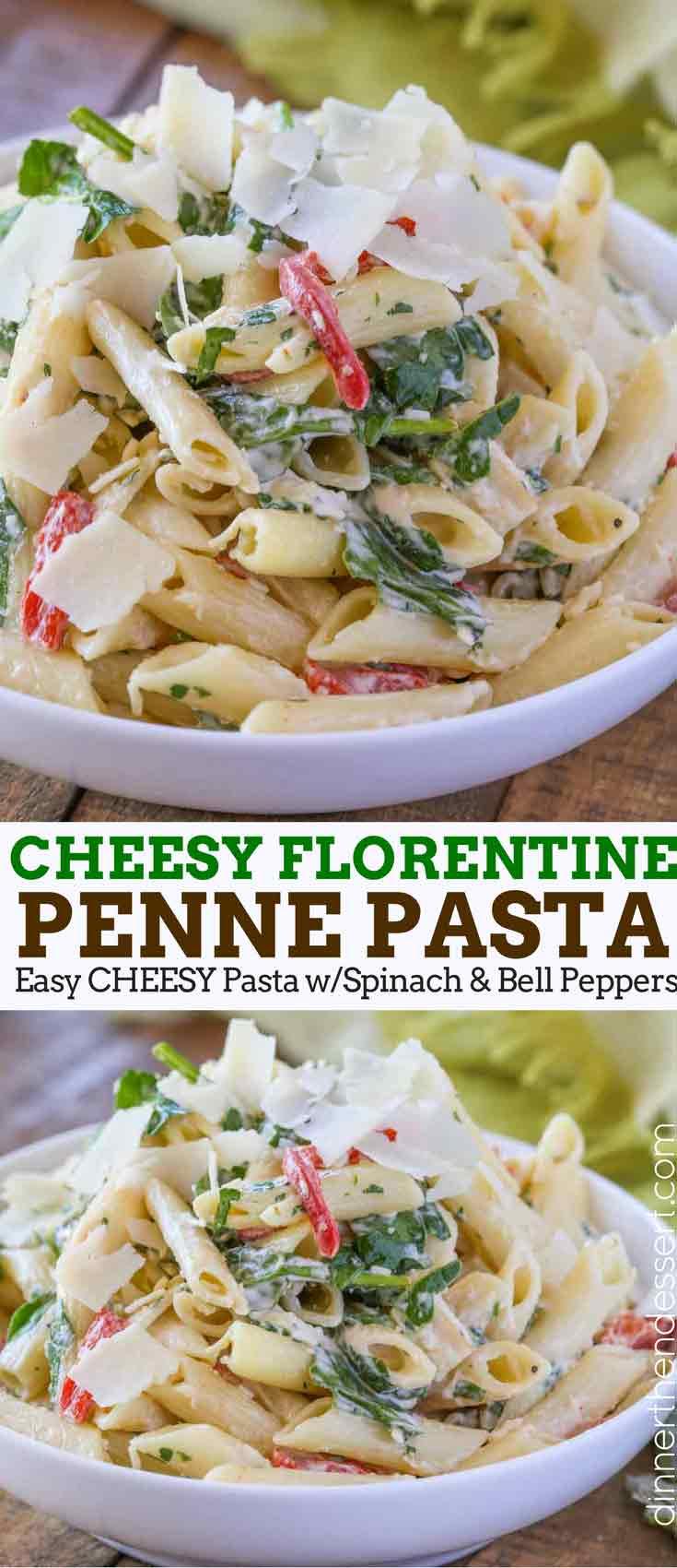 Florentine Spinach Pasta