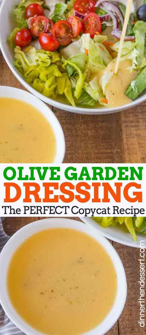 Olive Garden Dressing Copycat
