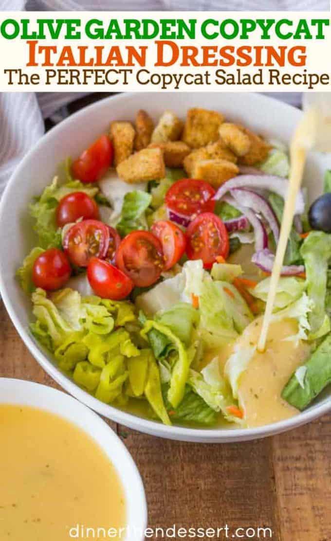 Olive Garden Homemade Dressing