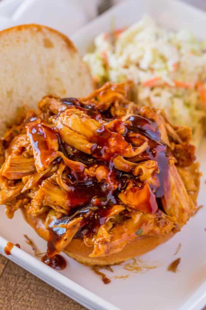 Pulled BBQ Chicken Sandwich Recipe