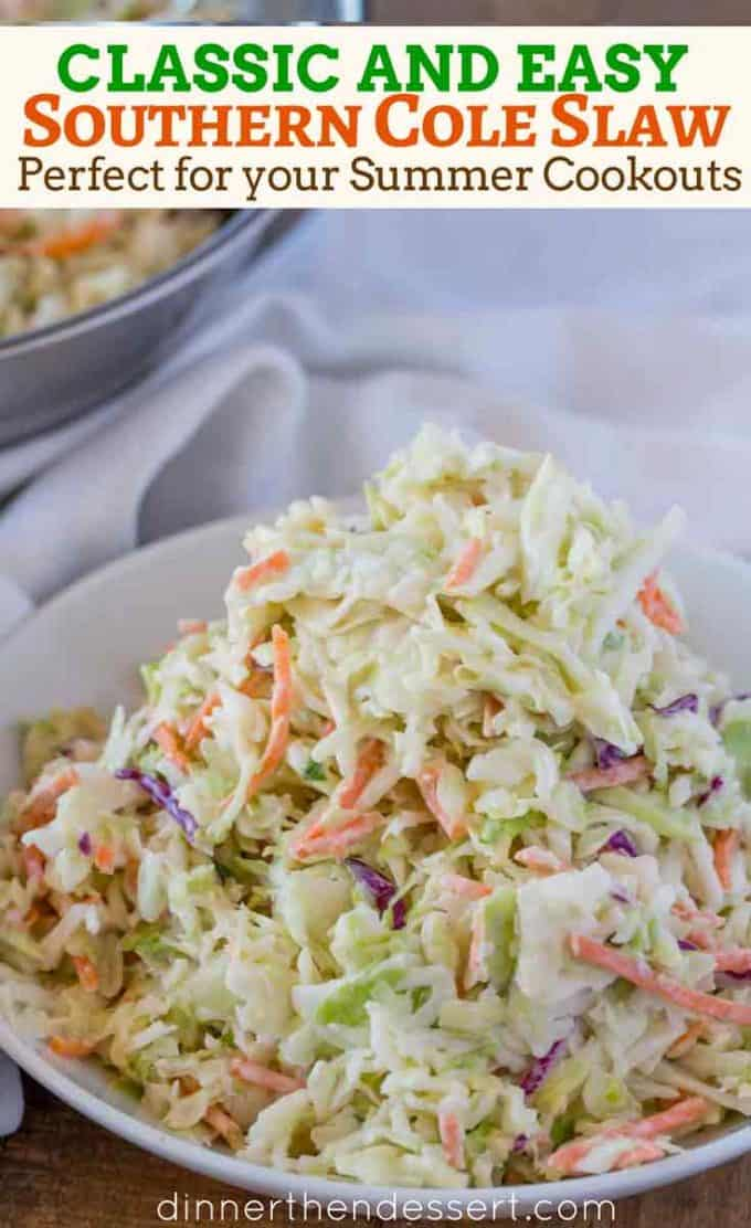 Easy Southern Cole Slaw