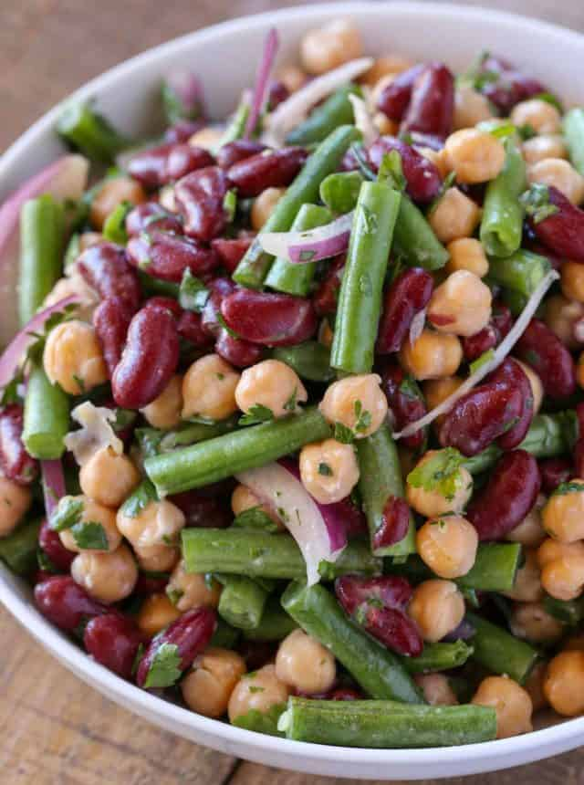 classic three bean salad recipe