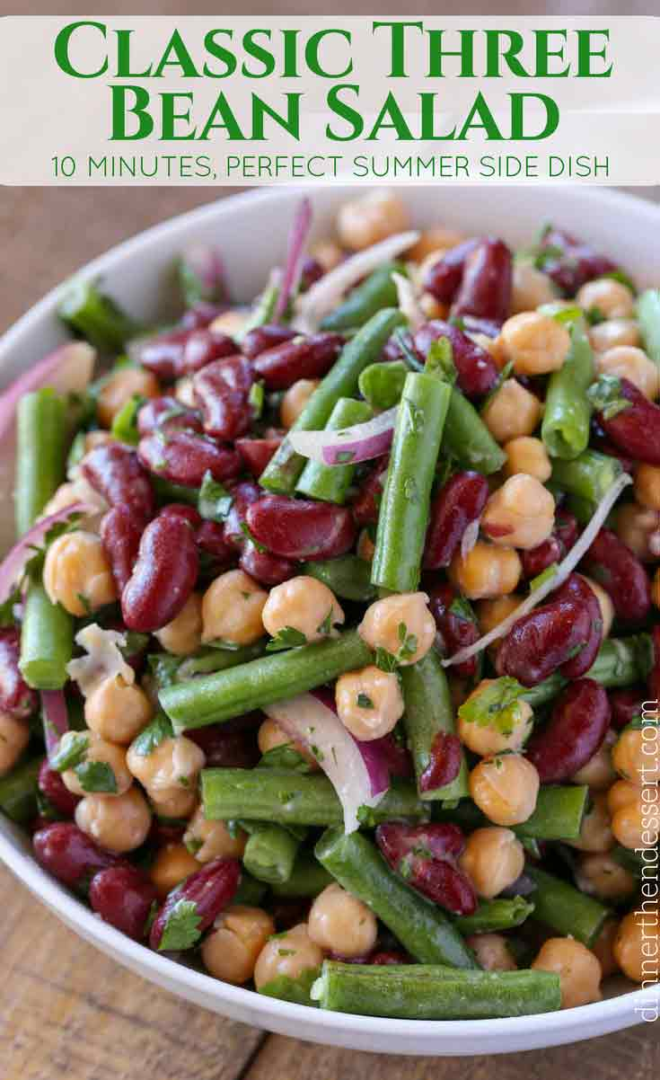 Healthy Three Bean Salad Recipe