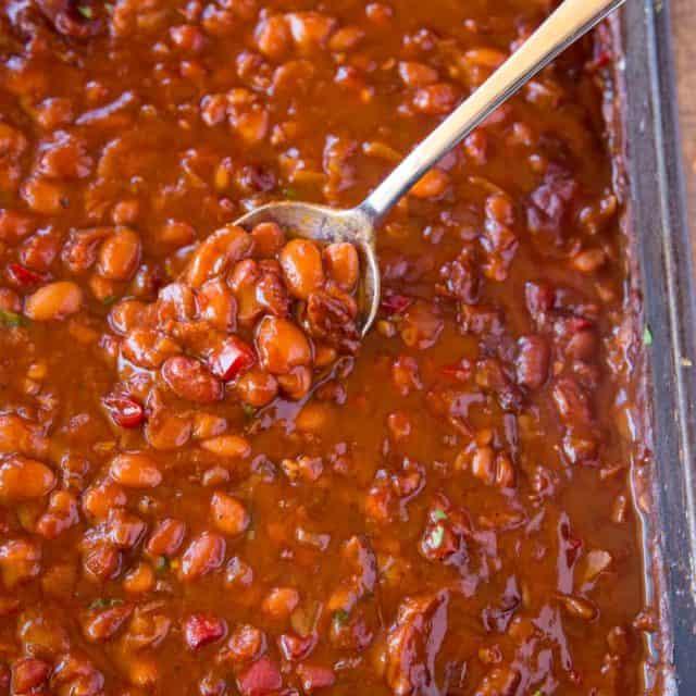 Best EVER summer baked beans recipe