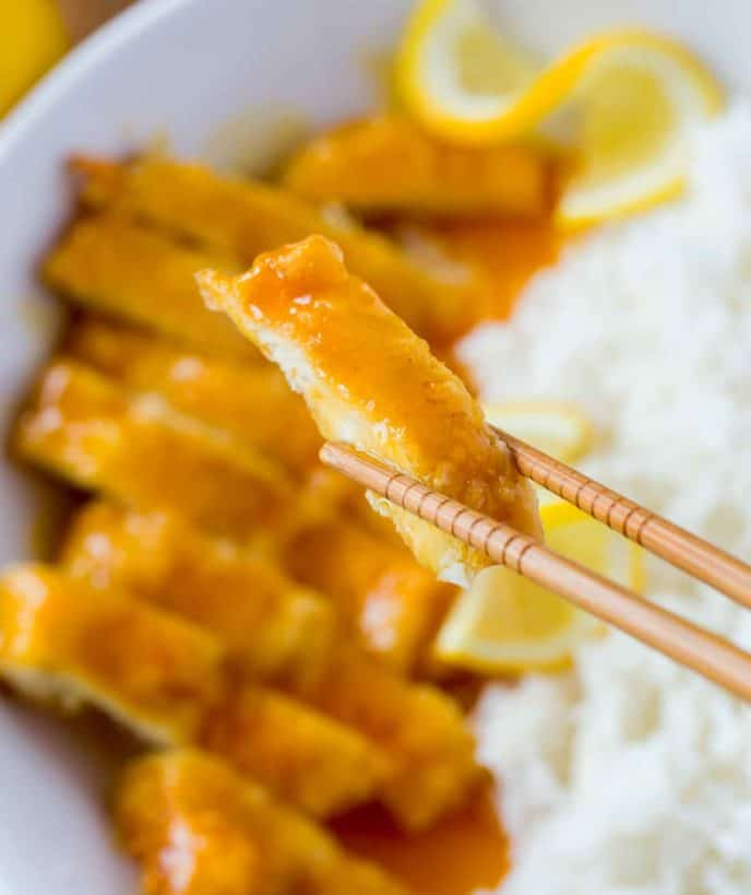 Bite of Asian Lemon Chicken