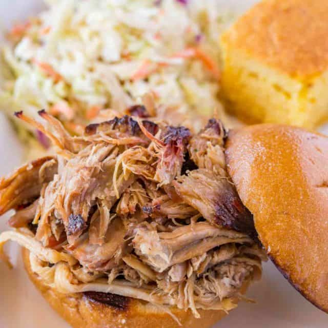 Easy Pulled Pork Sandwich