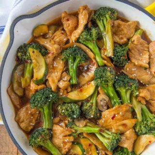 Hunan Chicken Stir-Fry