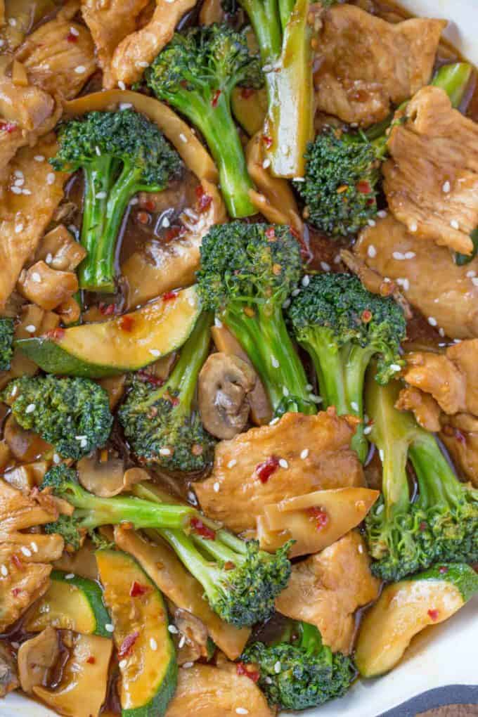 Quick and Easy Chinese Chicken Stir Fry