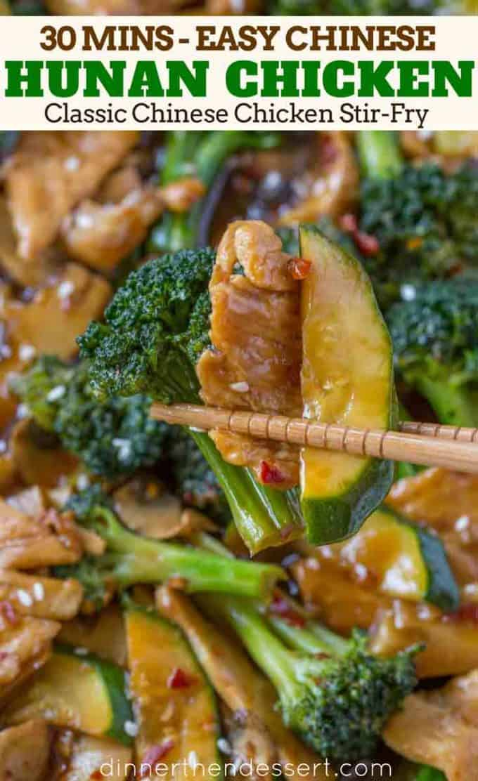 Easy Chinese Stir Fry with Hunan Sauce