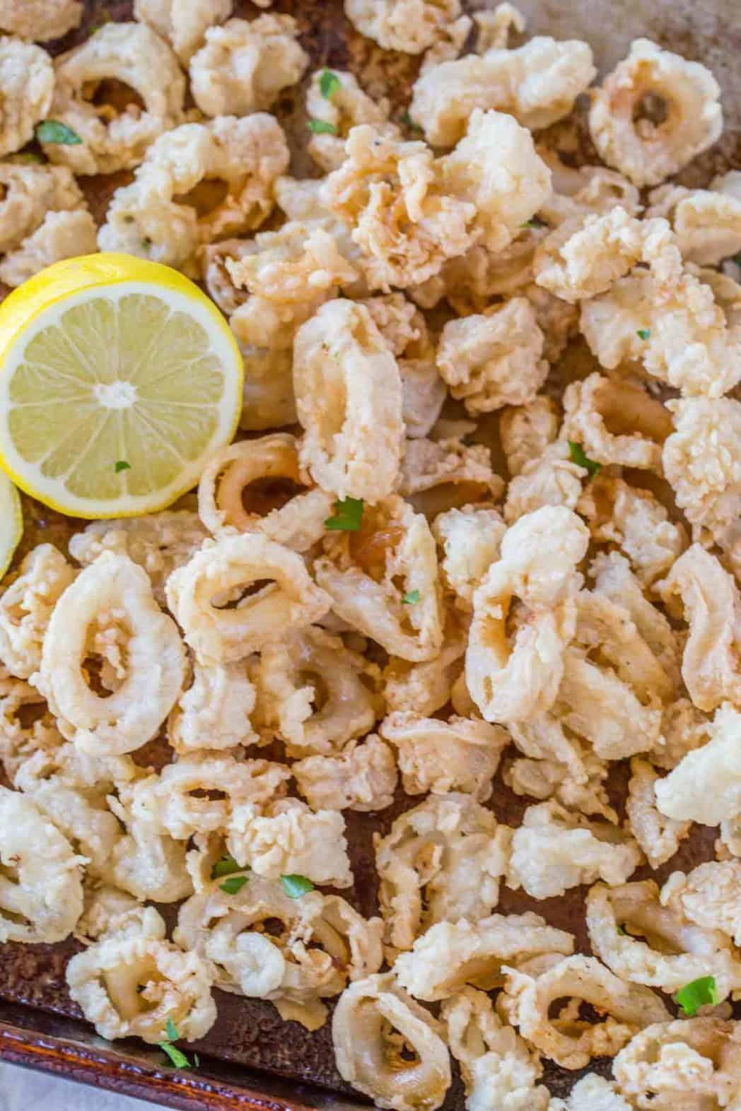 Crispy Fried Calamari Dinner Then Dessert
