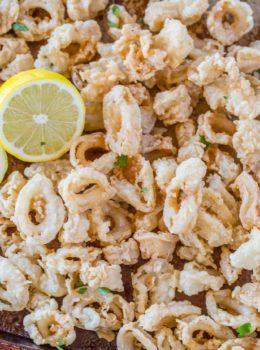 Crispy Calamari Recipe