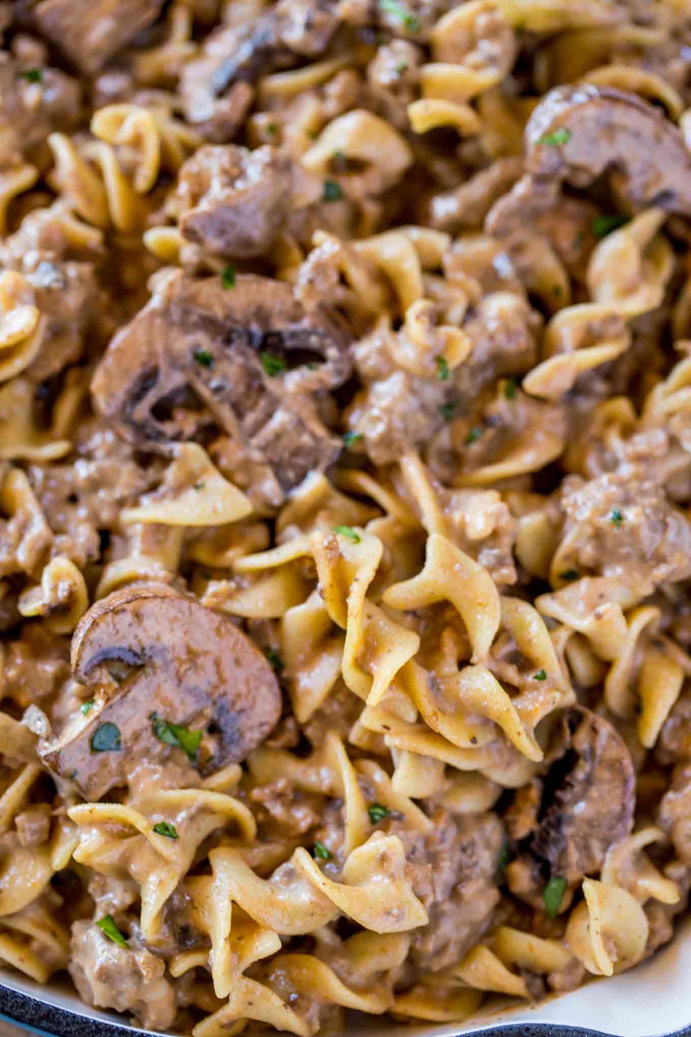 Recipe For Beef Stroganoff Using Ground Beef