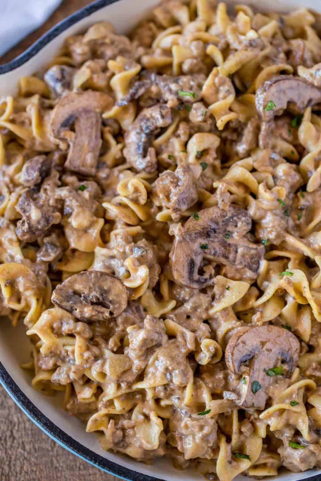 Recipes With Ground Beef Lettuce Wrap: Ground Beef Stroganoff