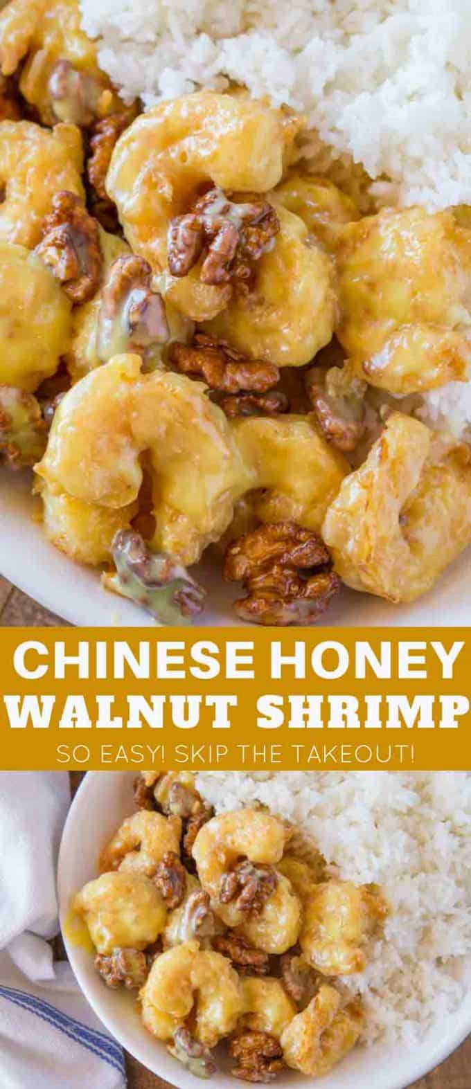 Chinese Honey Walnut Shrimp