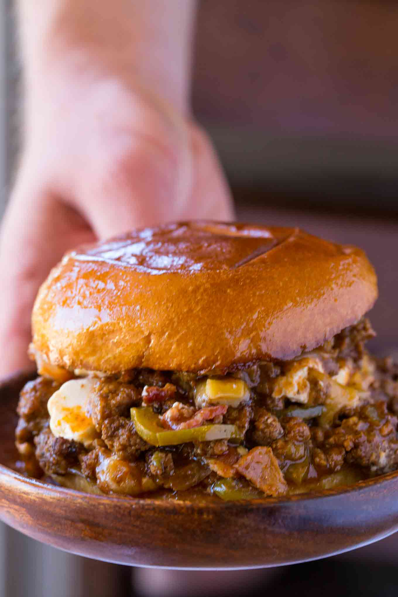 Jalapeno Popper Sloppy Joes