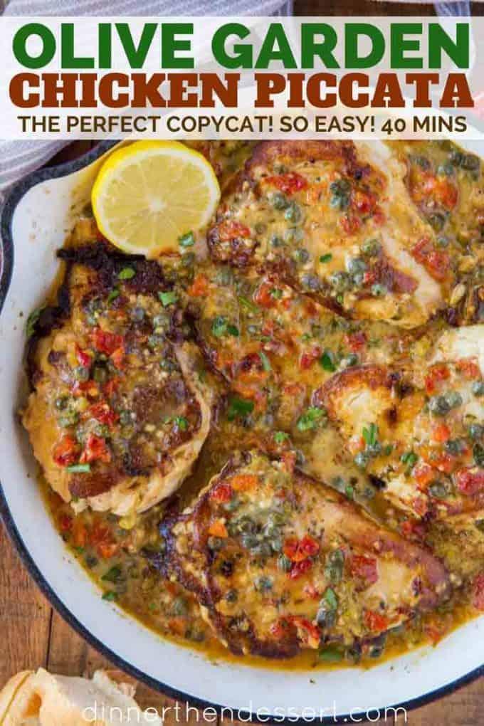 Chicken PIccata Copycat from Olive Garden