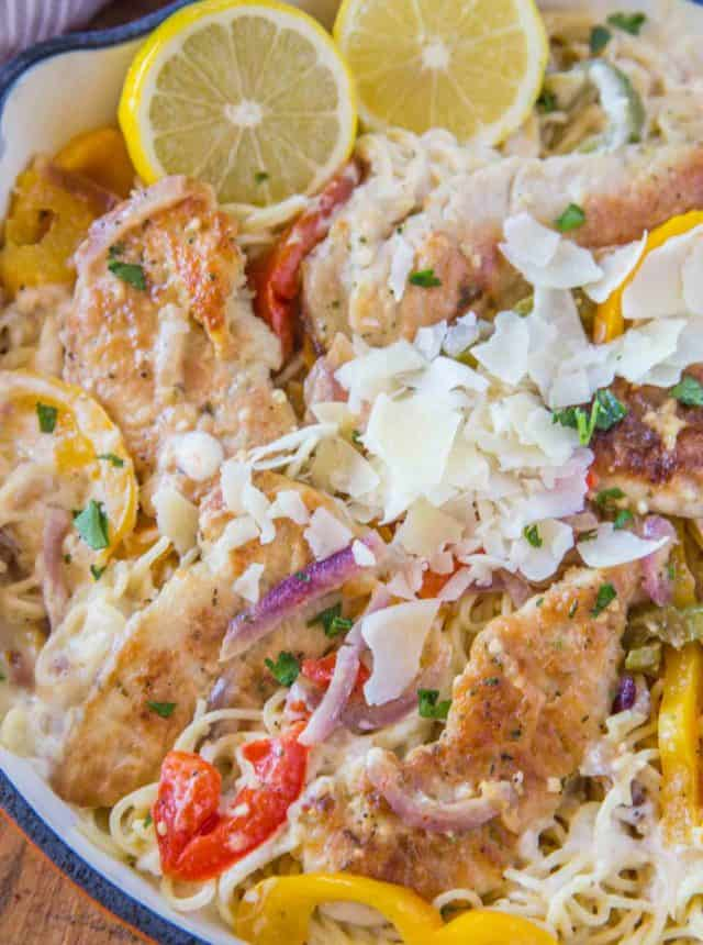 Olive Garden Chicken Scampi Pasta (Copycat)