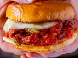 Sausage and Peppers Sloppy Joe Recipe