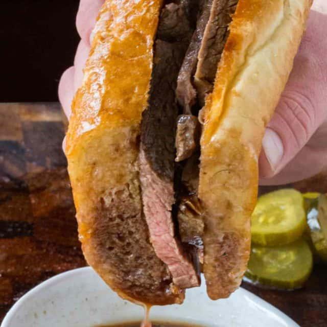 Crock Pot Beef Dip Sandwiches