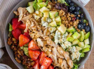 Chick Fil A Market Salad Copycat Dinner Then Dessert