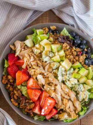 Chick Fil A Market Salad with Berries and Bleu Cheese
