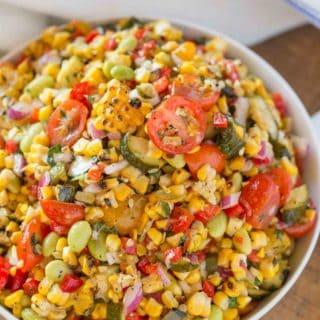 Summer Corn Succotash