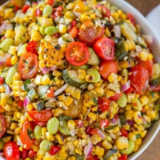 Summer Side Dish Corn Succotash