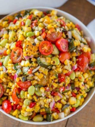 Summer Side Dish Corn Succotash