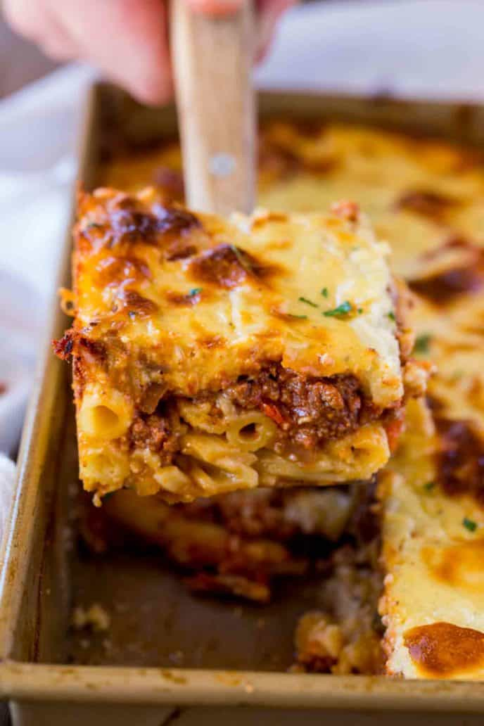 Greek Pastitsio Bake