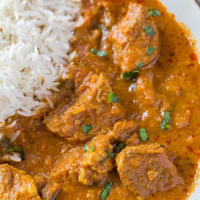 Easy Lamb Curry from India