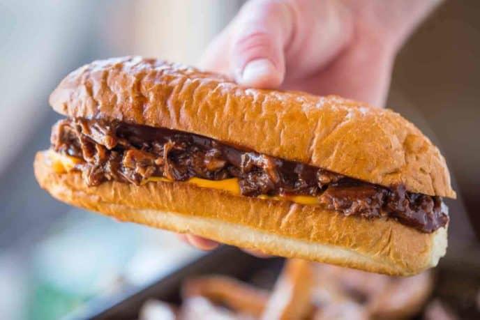 Crockpot BBQ Beef Sandwiches