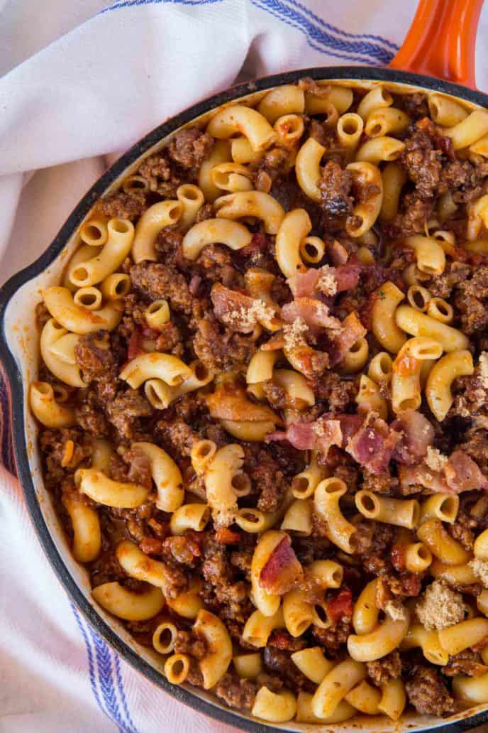 Bacon Beefy Pasta