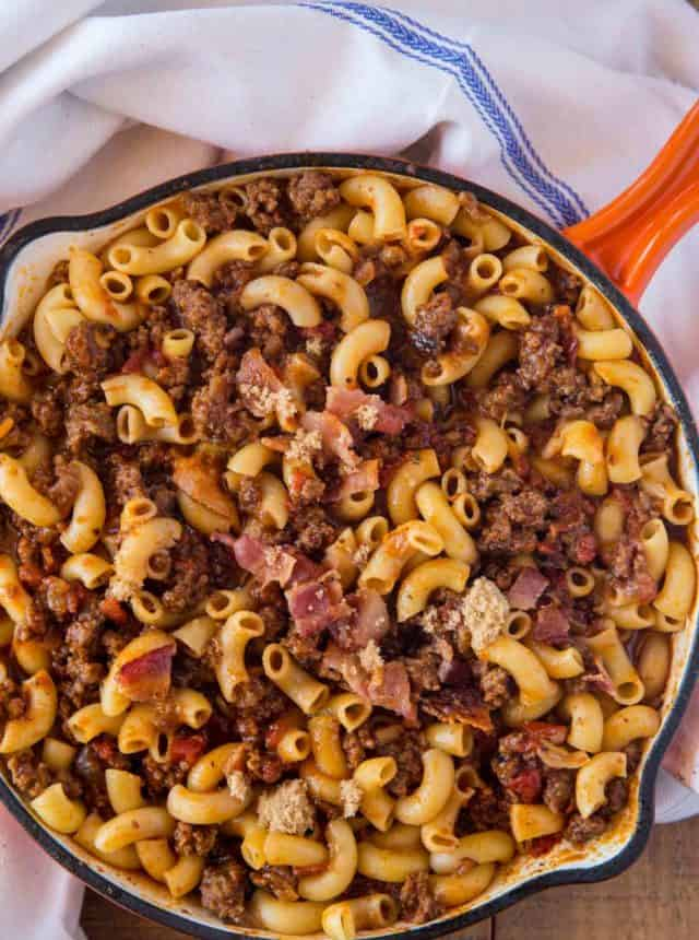 Bacon Brown Sugar Hamburger Helper