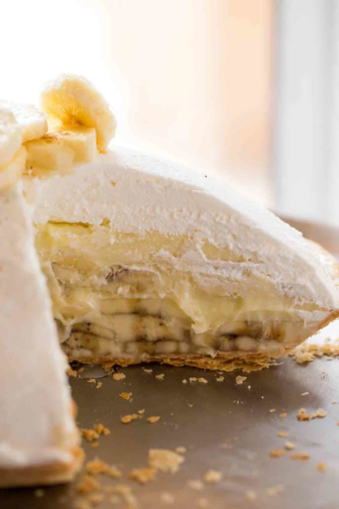 How To Make Banana Cream Pie With Banana Pudding