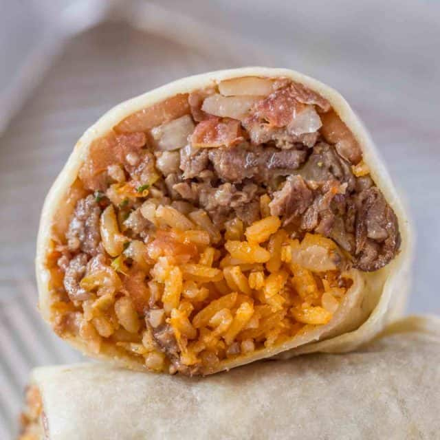 Easy Beef Burritos