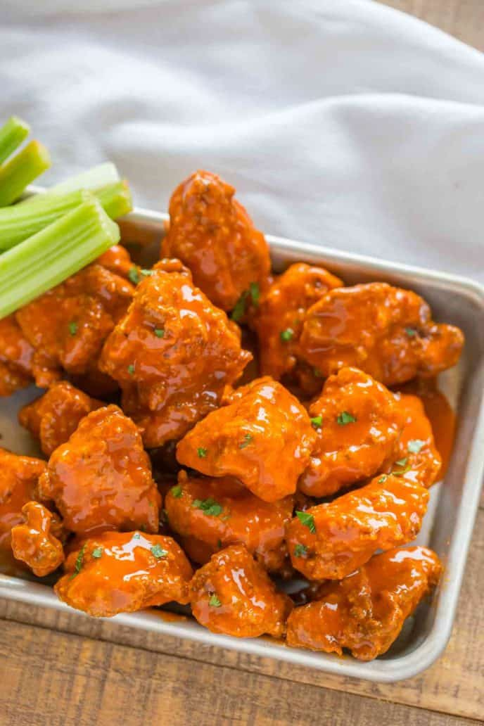 Boneless Buffalo Wings - Dinner, then