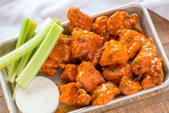 Boneless Buffalo Wings