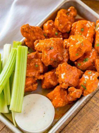 Party Food Buffalo Boneless Wings