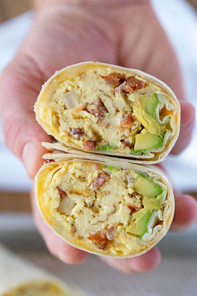 Make Ahead Breakfast Burritos